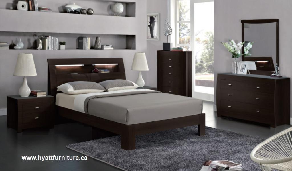 Brand new 8 pcs Modern Bedroom Set