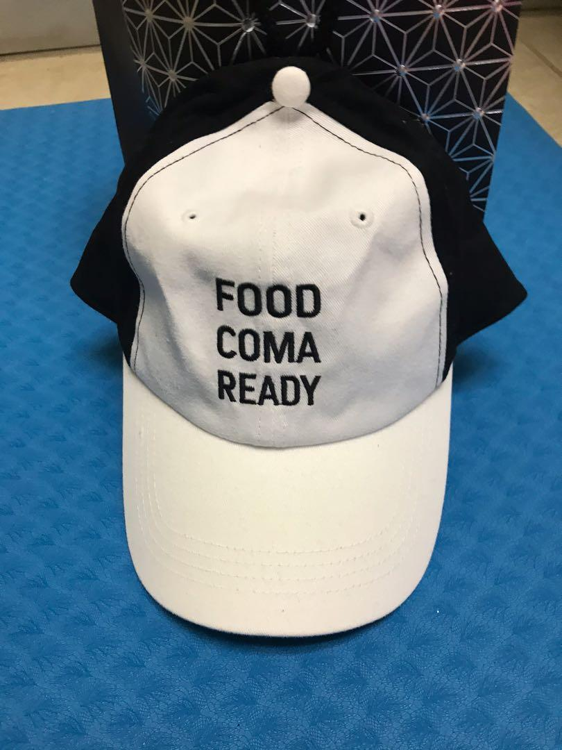 Food coma ready hat