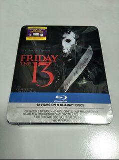 Friday The 13th Collection Bluray Tin Case
