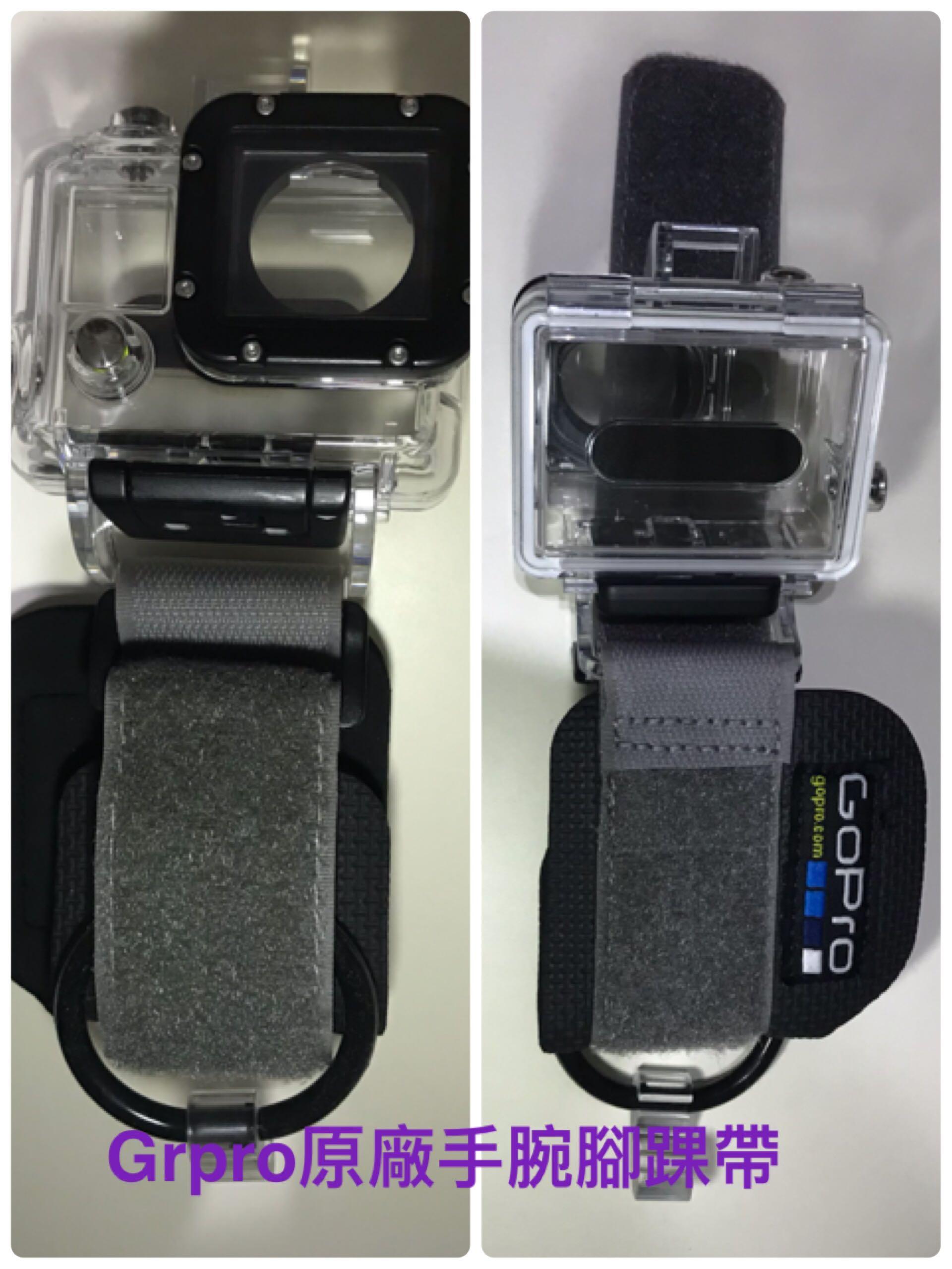 Gopro 3或4原廠手腕或腳踝式固定裝置