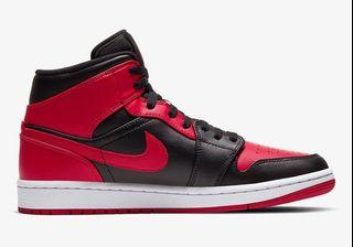 Air Jordan 1 Mid Breds Banned