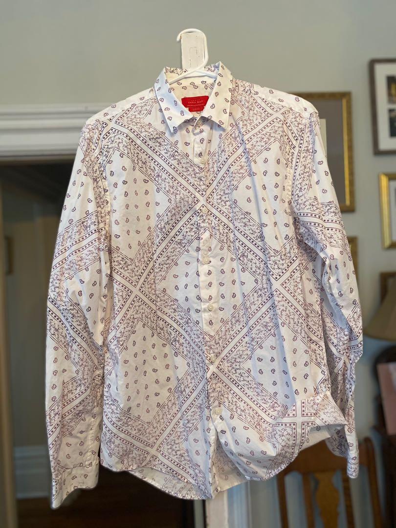 Large Zara Button Up