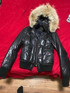Mackage genuine leather down winter jacket xxs