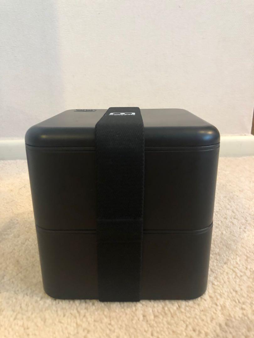 Monbento original square lunchbox black