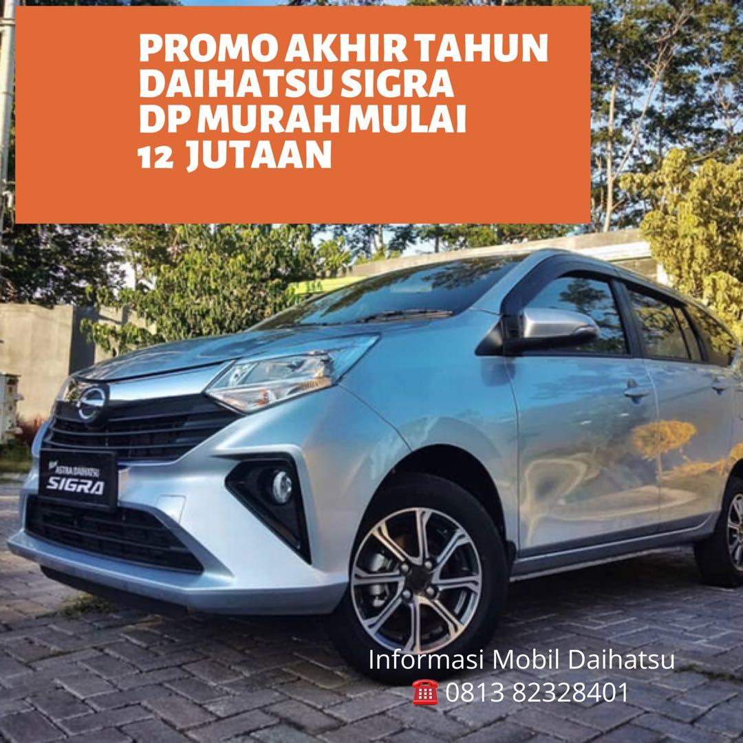 PROMO DP MURAH Daihatsu Sigra mulai 12 jutaan. Daihatsu Fatmawati