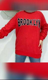Red Sweater brooklyn