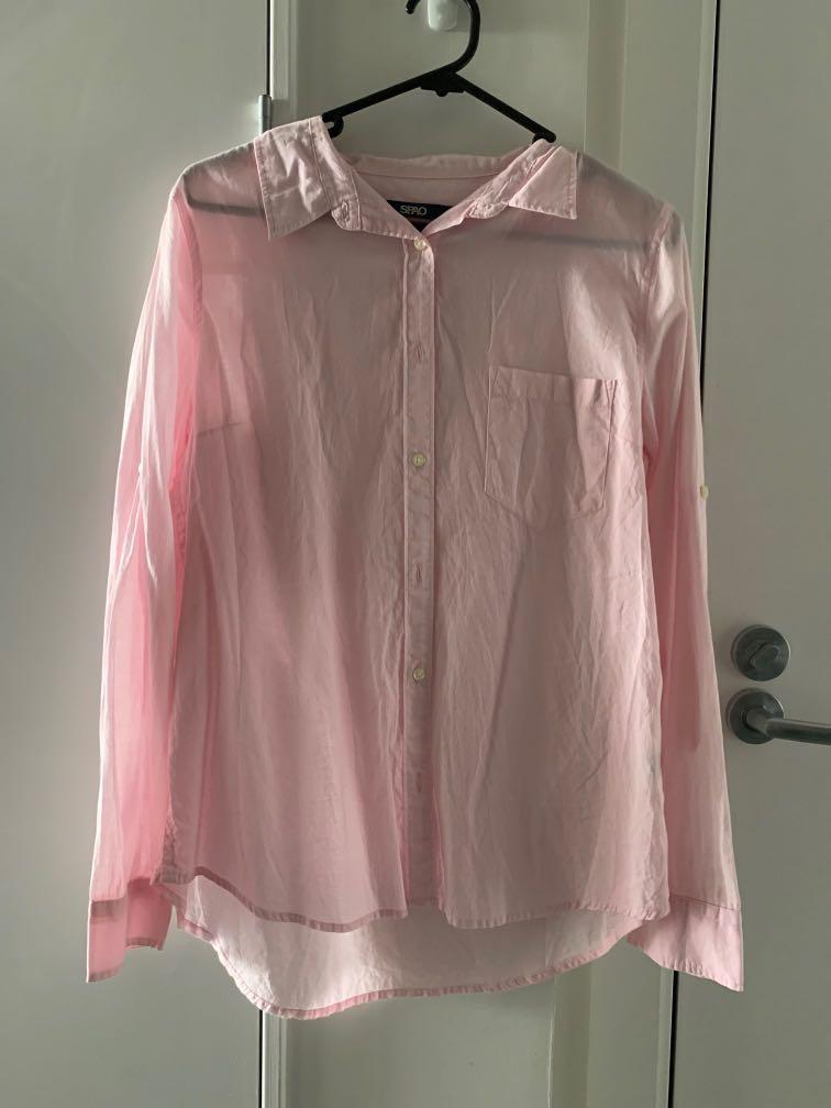 SPAO pink Shirt
