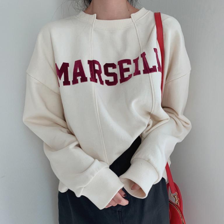 2 colours sweatshirt