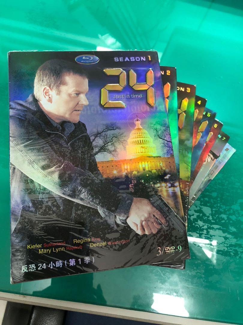 促銷 反恐24小時/2424小時反恐任務/Hour 第1-8季完整版 D9