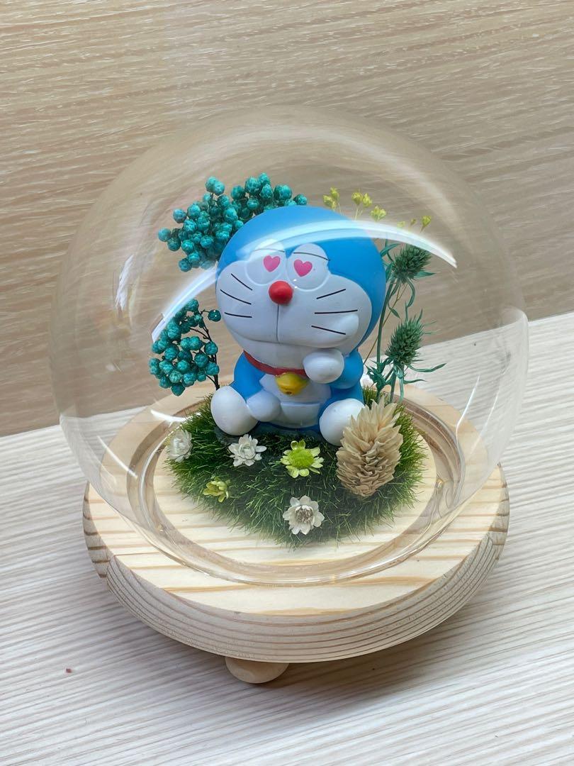 【全新】多拉A夢泡泡球夜燈 手作商品 客製禮品