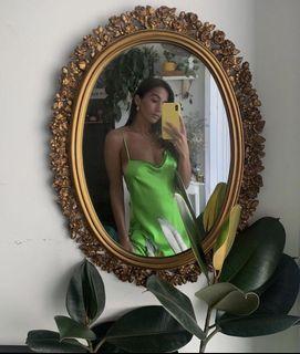 ARITZIA/WILFRED silk slip dress