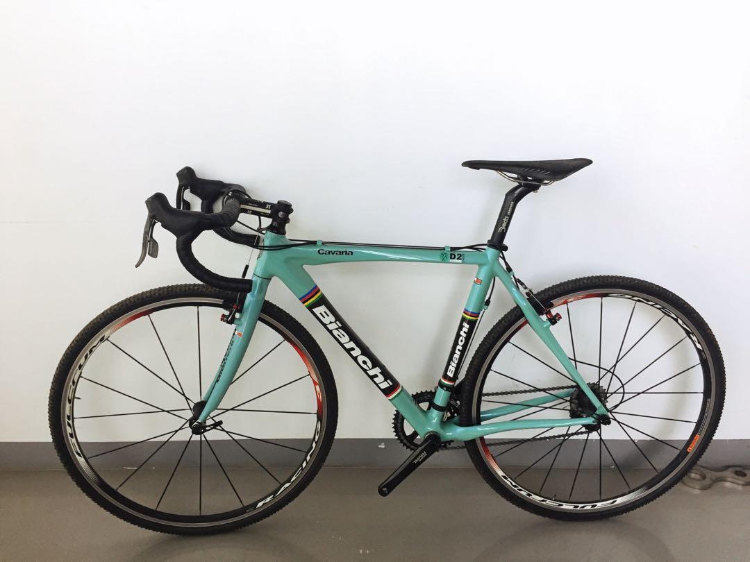 Bianchi Cavaria D2 cyclocross gravel bike factor pinarello
