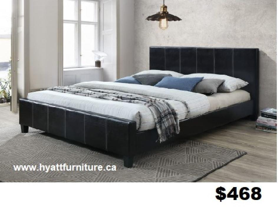 Brand new King Platform Bed from $468