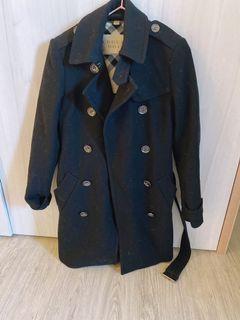 Burberry 許維恩同款羊毛大衣外套