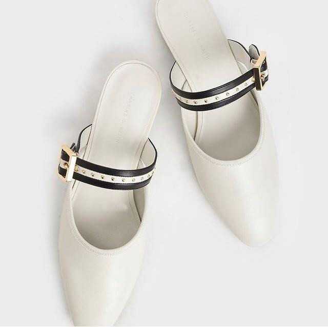 Charles and Keith Belt Mules