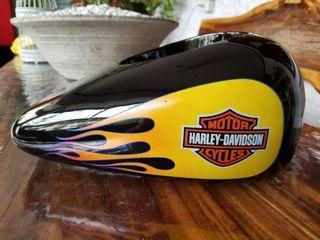 Harley Davidson Ceramic Gas Tank Pot