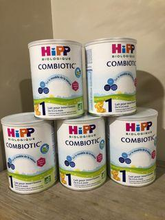 HIPP ORGANIC COMBIOTIC BABY FORMULA STAGE 1