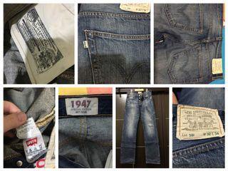 男Levis牛仔褲501
