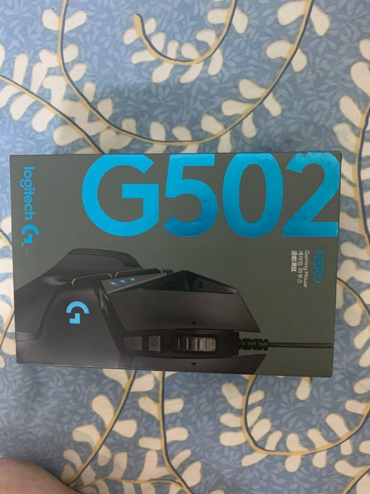 Logitech G502HERO遊戲滑鼠電競專用#全新未拆