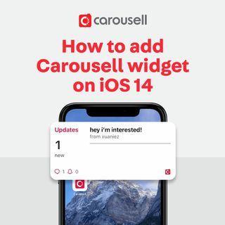 NEW LAUNCH: Carousell Widget on iOS 14!