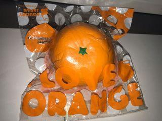 Squishy orange