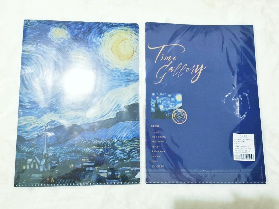 Van Gogh Starry Night Folder