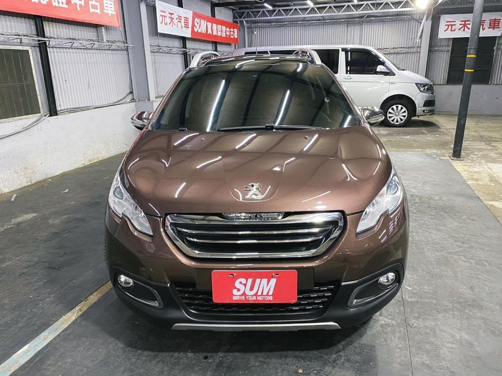 正2014年 出廠 Peugeot/寶獅 2008 1.6 旗艦型 超貸 找錢 實車實價 全額貸 一手車 女用車 非自售 里程保證 原版件