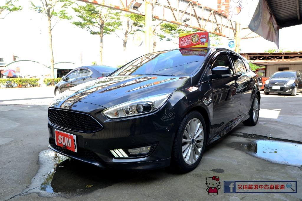 2016年Ford Focus 5D 1.5頂規 #僅跑3萬 帥氣馬丁頭~