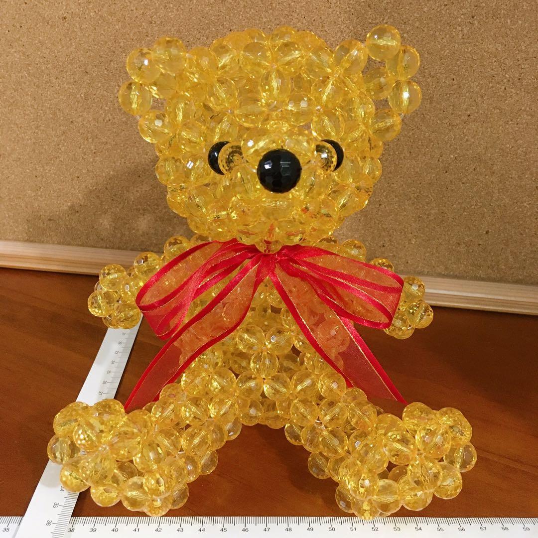 🍁串珠大熊熊