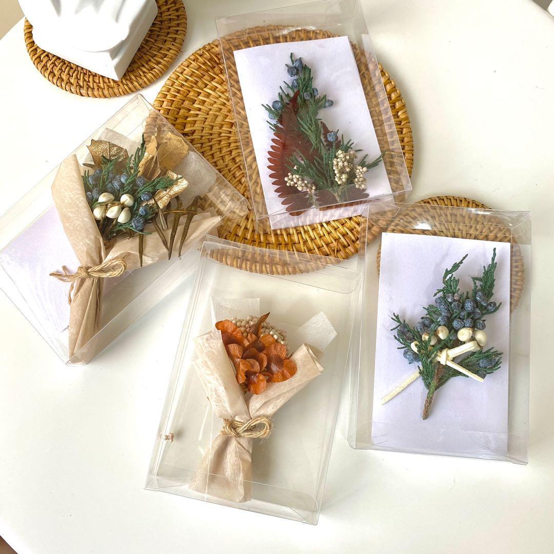 [花好玥圓]乾燥花卡片 聖誕卡片 卡片