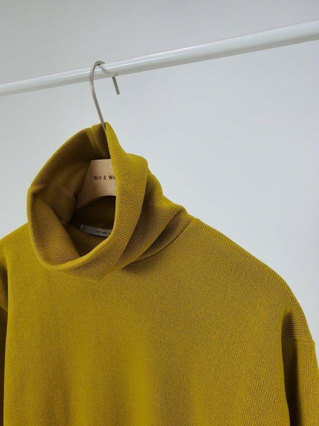 正韓 - 男裝 - 2020 冬季 –防風保暖高領內磨毛針織上衣(W-0118)