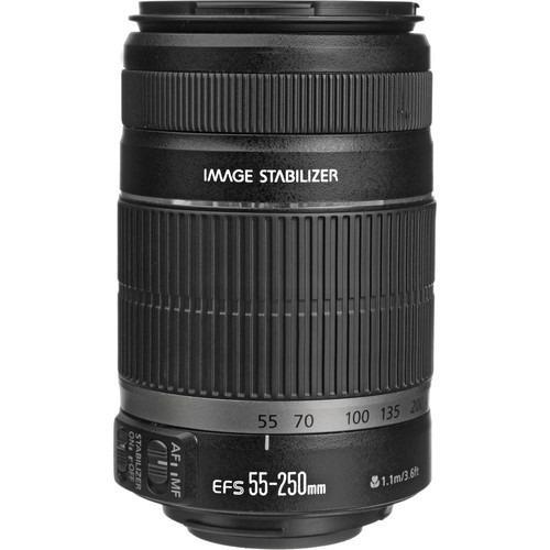 Canon EF-S 55-250mm f//4-5.6 IS II 100/% Original Nuevo