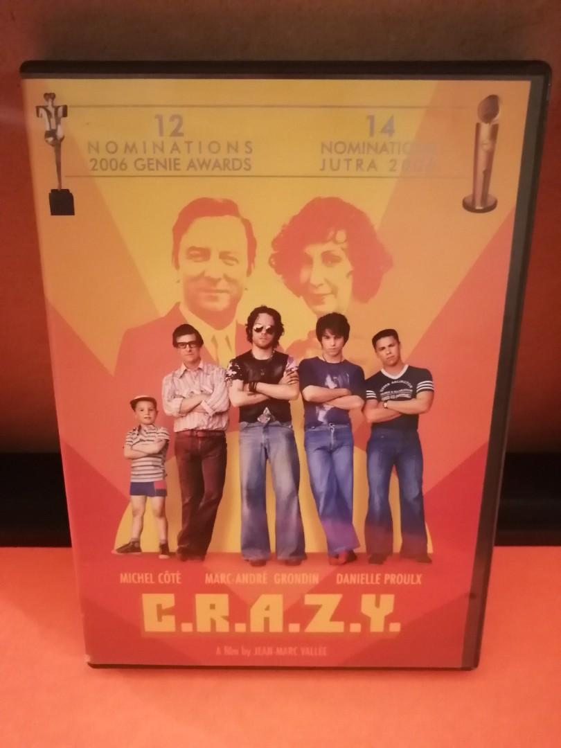 C.R.A.Z.Y  DVD