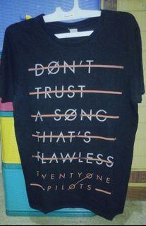 Kaos Band 21 Twenty One Pilots Don't Trust a Song
