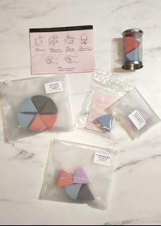 【全新】小蛋糕扇形海綿/美妝蛋/粉撲/Makeup Sponge
