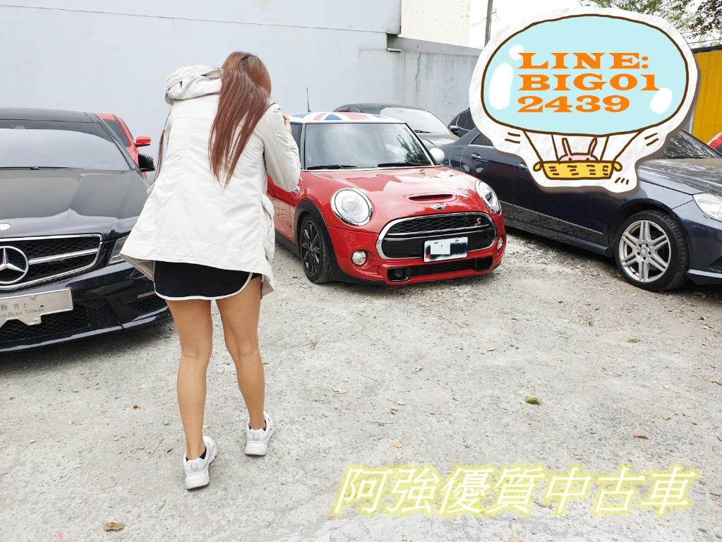 MINI COOPER S全額貸 低利率 找錢 車換車 皆可辦理