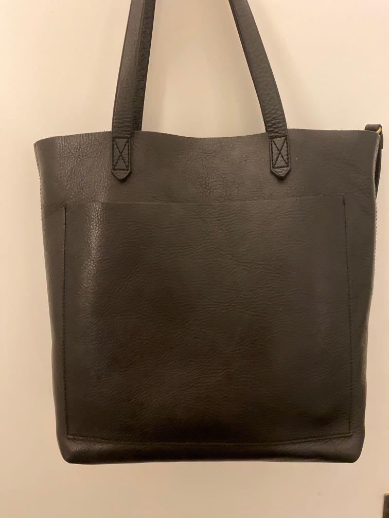 Nordstrom Madewell Leather Transport Tote