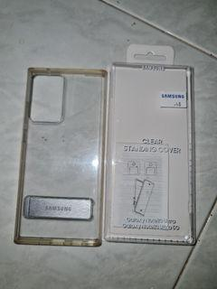 Original Samsung Galaxy Note20 Ultra Clear Standing Cover