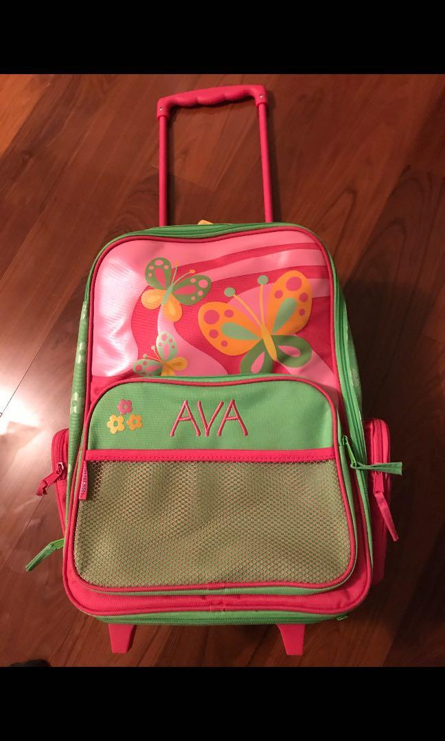 """Personalized """"AVA"""" kids suitcase"""