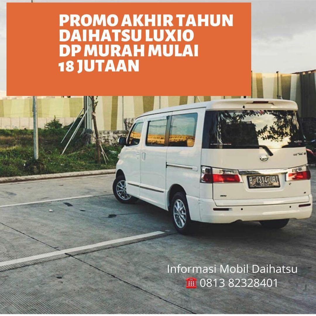 PROMO DP MURAH Daihatsu Luxio mulai 18 jutaan. Daihatsu Fatmawati