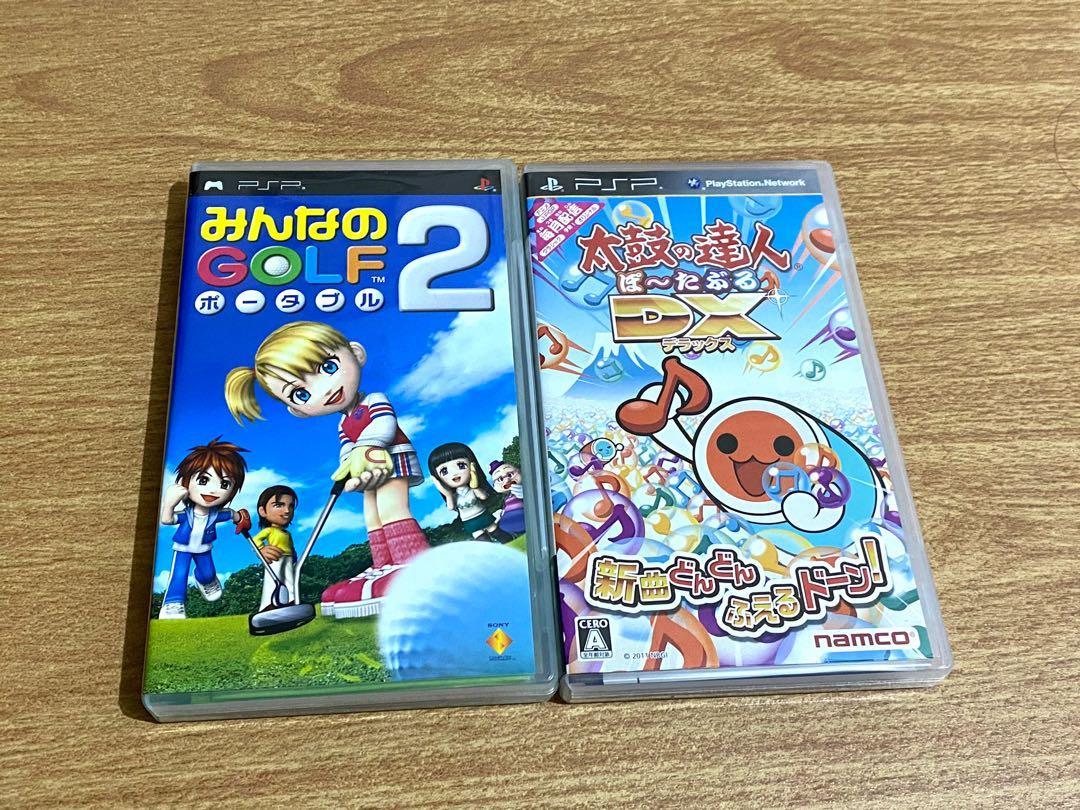 PSP UMD 太鼓達人 高爾夫球2 遊戲光碟 遊戲片 卡夾
