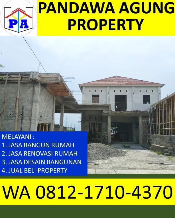 RECOMENDED  0812-1710-4370   Harga Borongan Rumah 2 Lantai Per Meter di Tulungagung, PANDAWA AGUNG PROPERTY