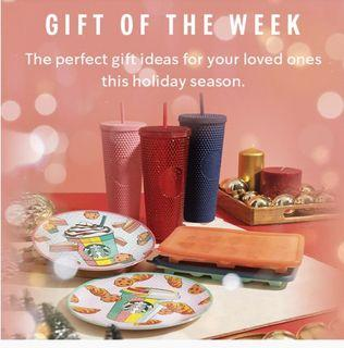 Starbucks Exclusive Limited Studded Cups Set ( Blue / Pink + Red)  🌟🌟