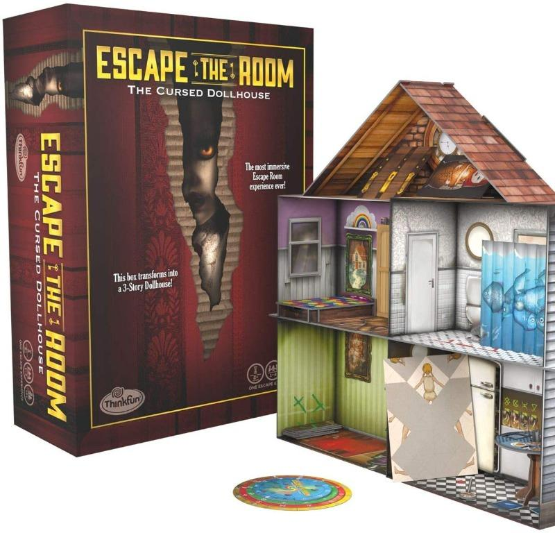 Secret of Dr Gravely/'s Retreat ThinkFun Free Shipping! Escape The Room