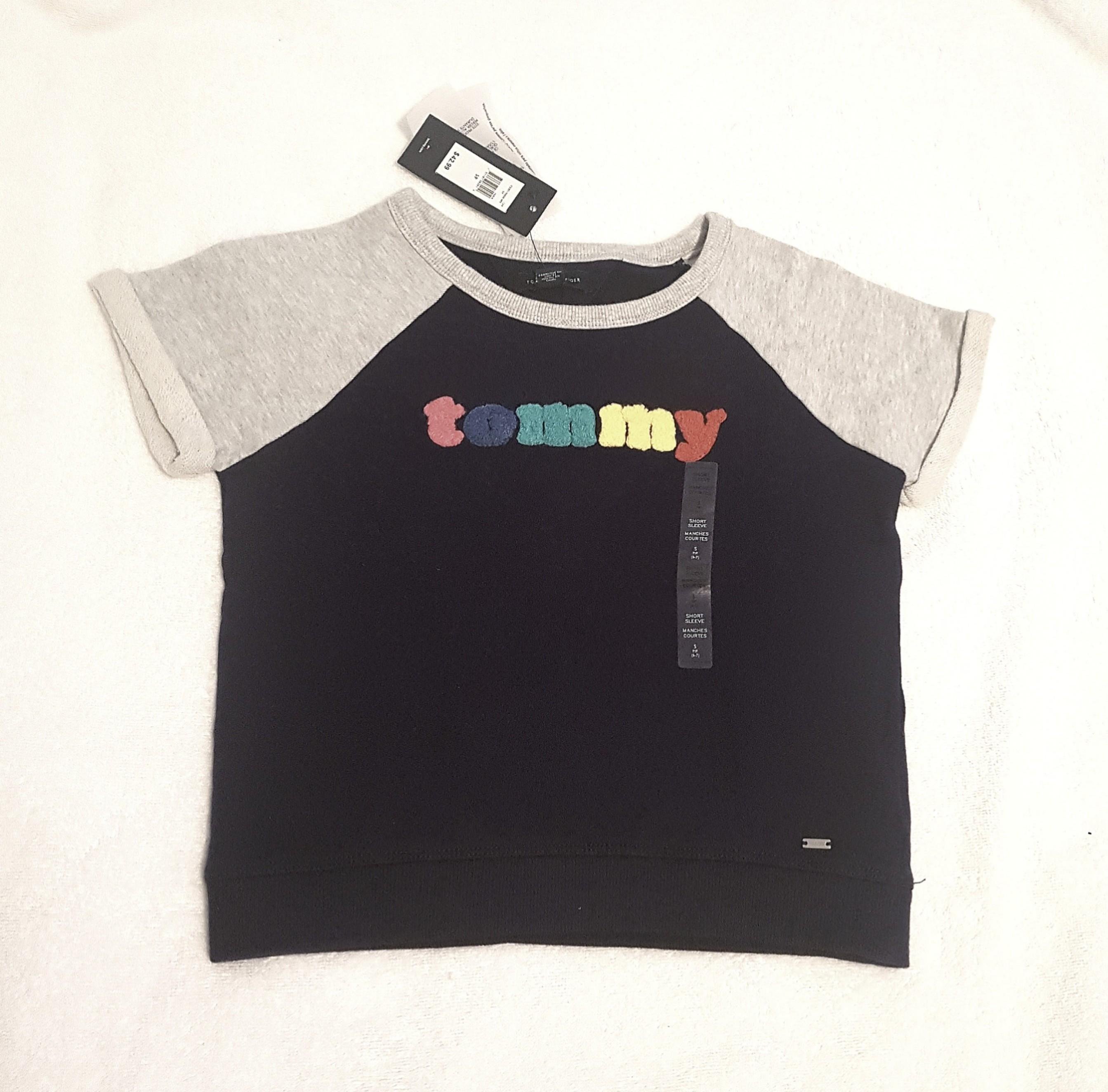 Tommy Hilfiger kids short sleeve jumper pullover NEW