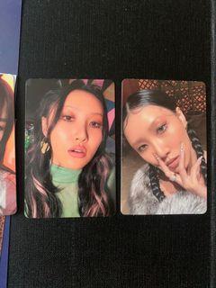WTT mamamoo travel photocards