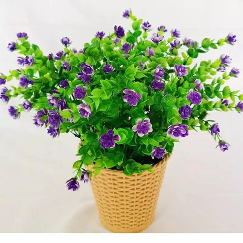 1 Bunch Artificial Flowers Outdoor, Artificial Flowers Outdoor Use