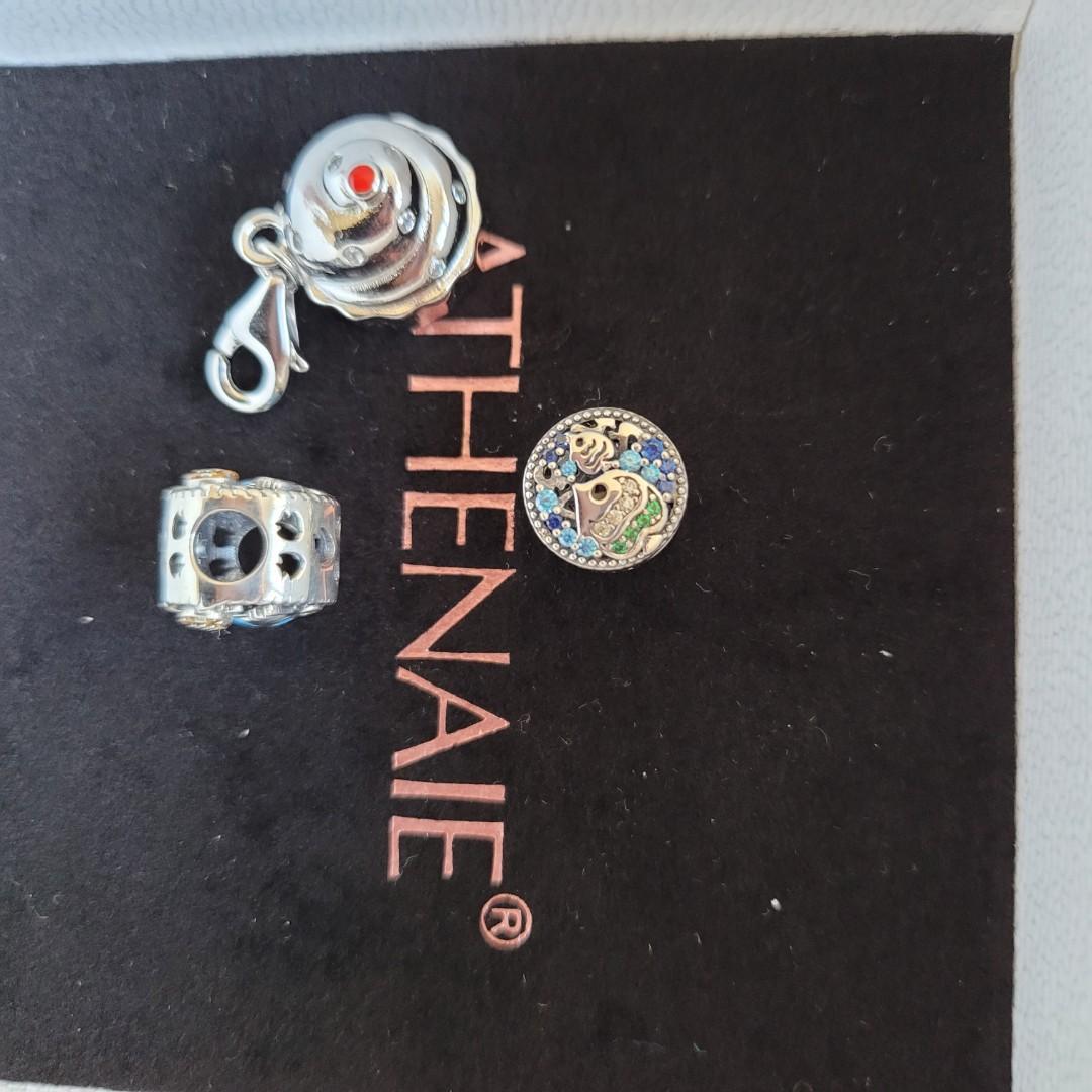 925 silver bracelet charms