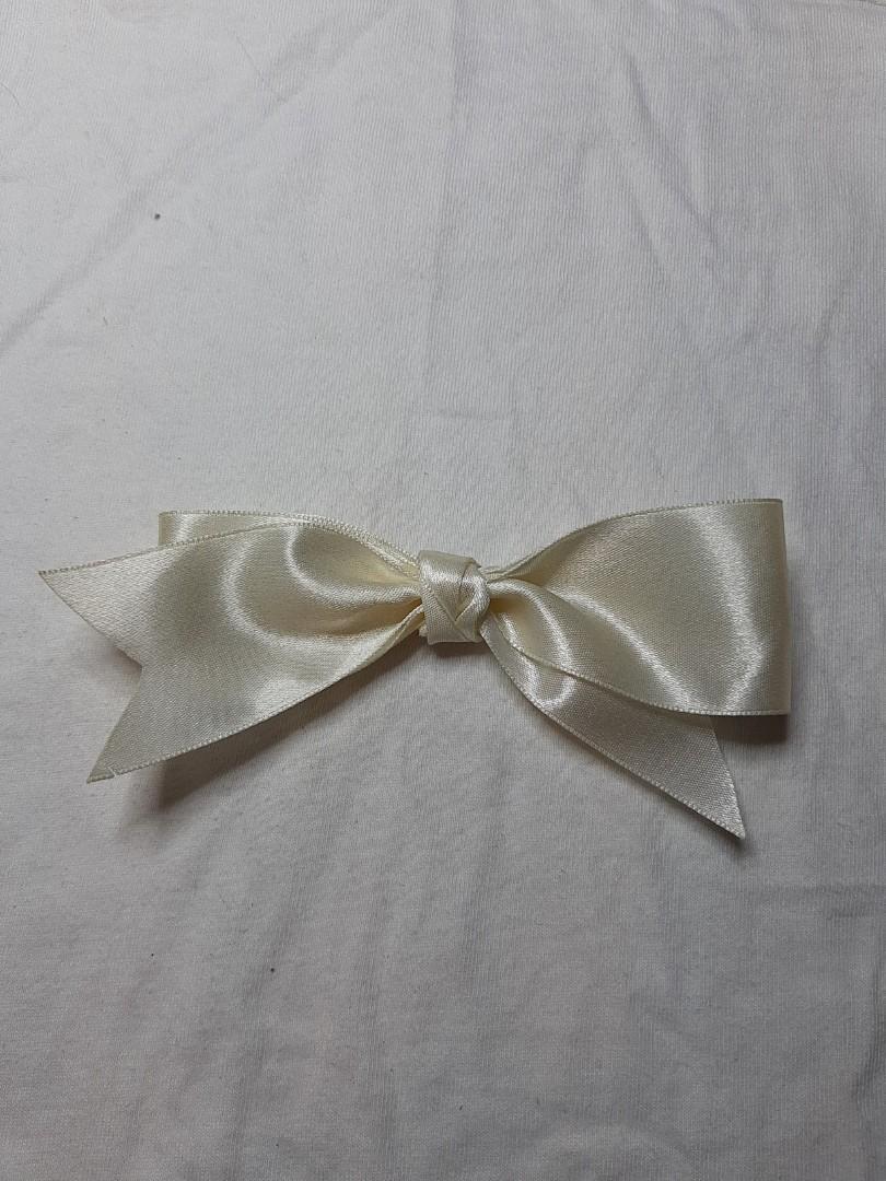(手作)白色蝴蝶結