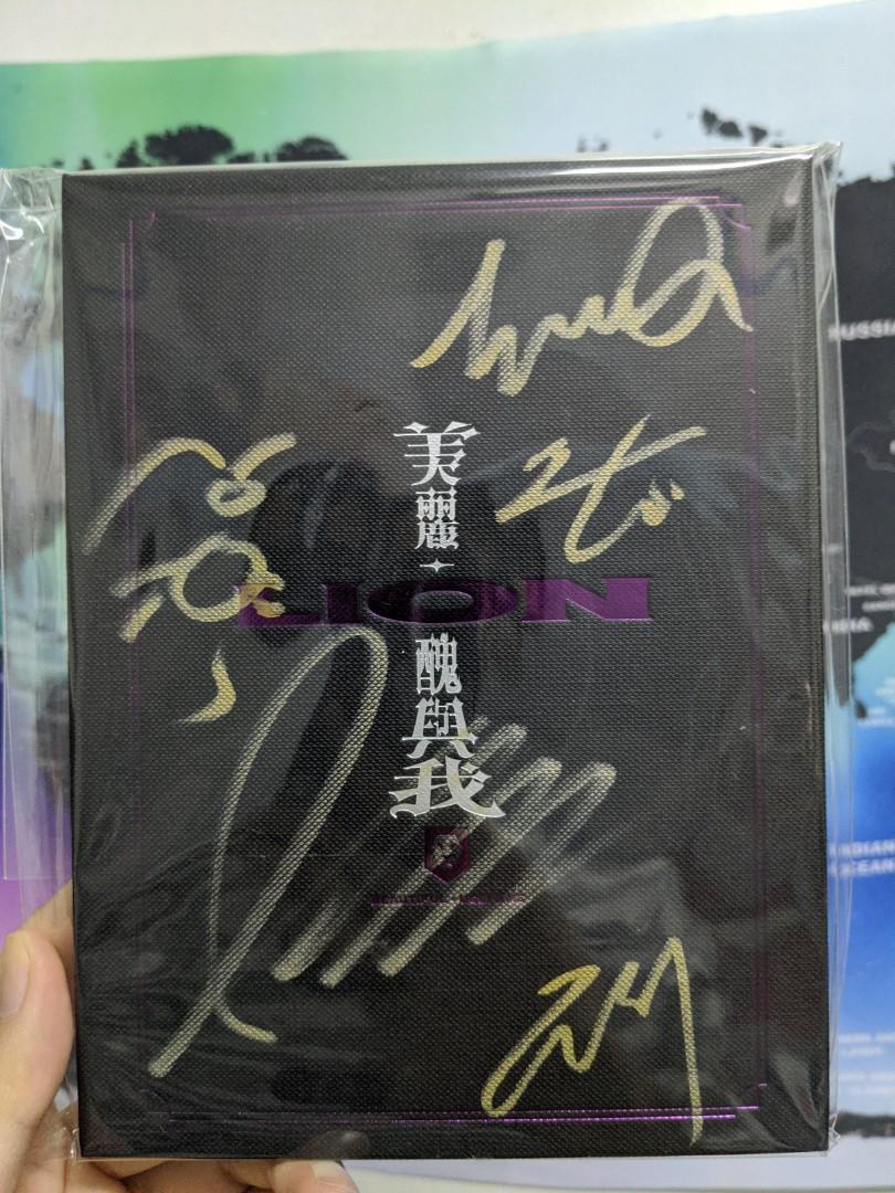 蕭敬騰 獅子合唱團LION 簽名專輯